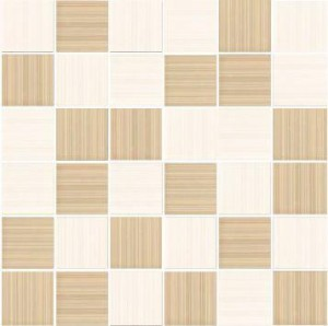 MOZAIKA SHEILA BLANCO-BEIGE 4,8x4,8_30x30