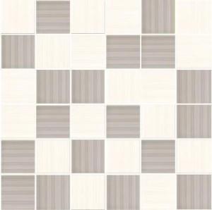 MOZAIKA SHEILA BLANCO-GRIS 4,8x4,8_30x30