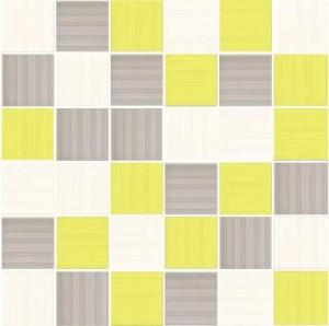 MOZAIKA SHEILA BLANCO-GRIS-KIWI 4,8x4,8_30x30