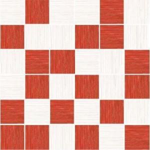 FORMA BLANCO_ROJO MOZ. 30x30_4,8x4,8