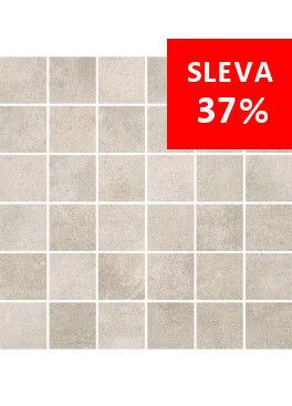Dlažba Maxima Soft Grey Mosaic Kostka