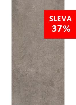 Dlažba Qubus Dark Grey Mat Rekt. 30x60
