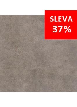 Dlažba Qubus Dark Grey Mat Rekt. 75x75