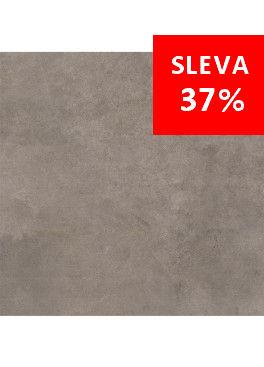 Dlažba Qubus Dark Grey Mat Rekt. 60x60