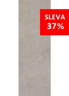 Dlažba Qubus Grey Mat Rekt. 25x75