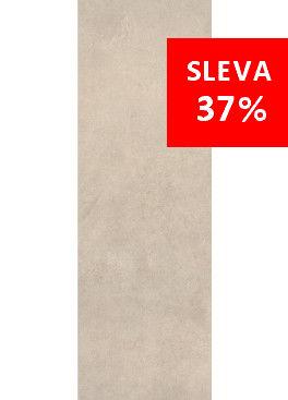 Dlažba Qubus Soft Grey Mat Rekt. 25x75