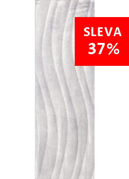 Obklad Tivoli Grey Relief 25x75