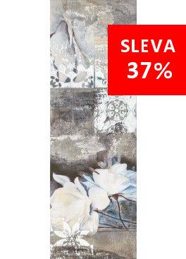Dekorace Slate Flower 1